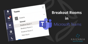 Breakout Rooms in Microsoft Teams
